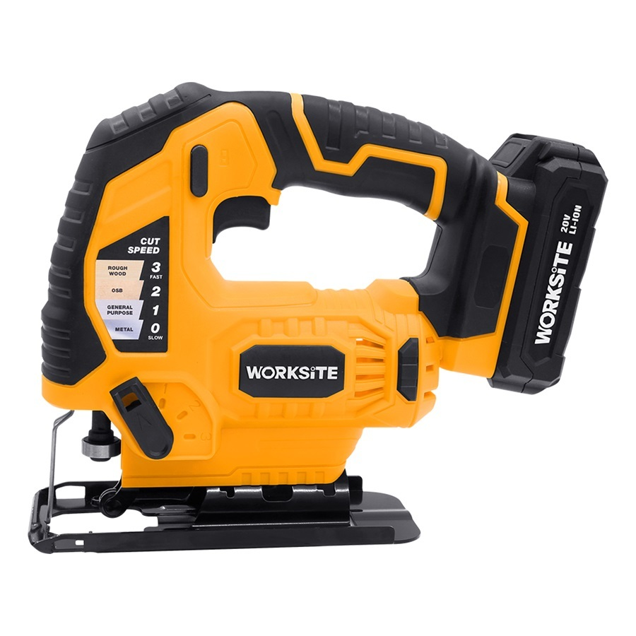 Jig Saw Machine Wood Cutting Power Saws Tools Jig Saw Electric 20V Cordless Jig Saw CJS326