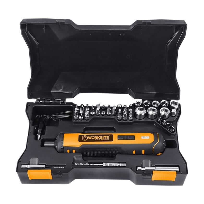 Battery Power Screwdriver Machine Cordless Drill Screwdriver Mini 4V Li-ion Cordless Screwdriver CSD106