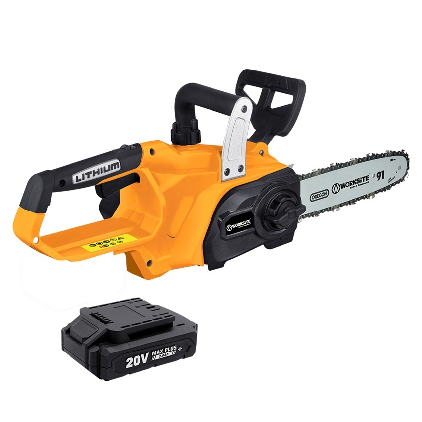 Worksite Power Saws Mini Chain Saw 20V 4.0Ah Battery Brushless Cordless Chain Saw Machine Price CCS456