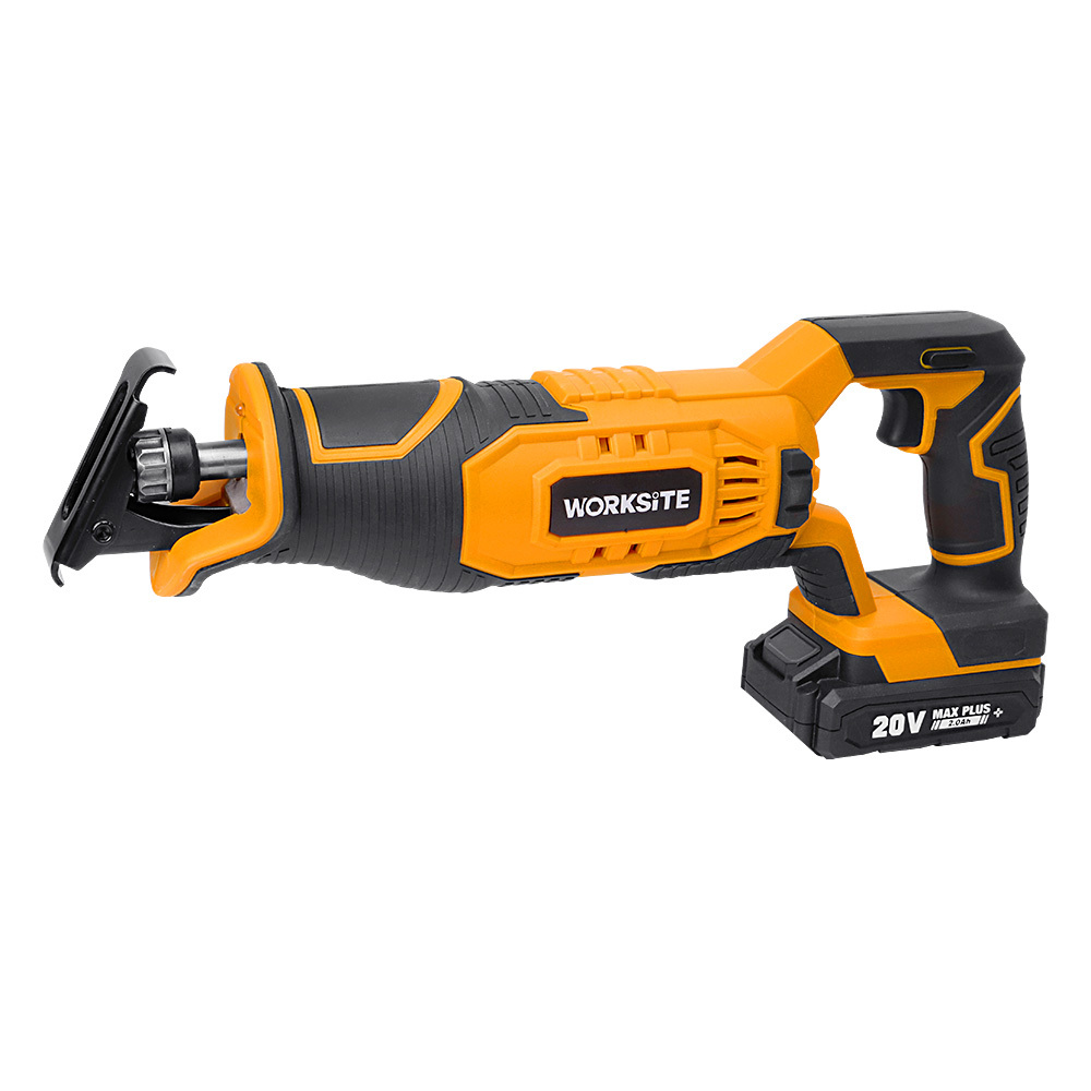Cordless Reciprocating Saw, CRS326, 2.0AH Battery and FAST Charger