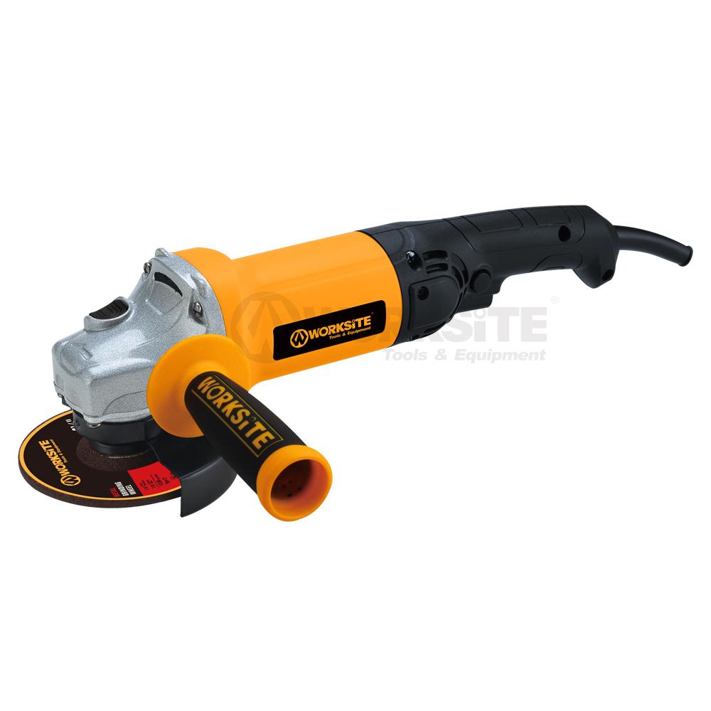 WORKSITE 100/115mm Angle Grinder,AG587,750W,220-230V,50/60Hz,Professional level