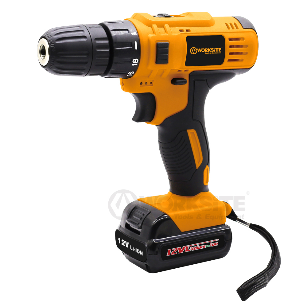 WORKSITE Cheap Cordless Drill CD330-12L/16L/20L Wholesale W/ Battery and Charger