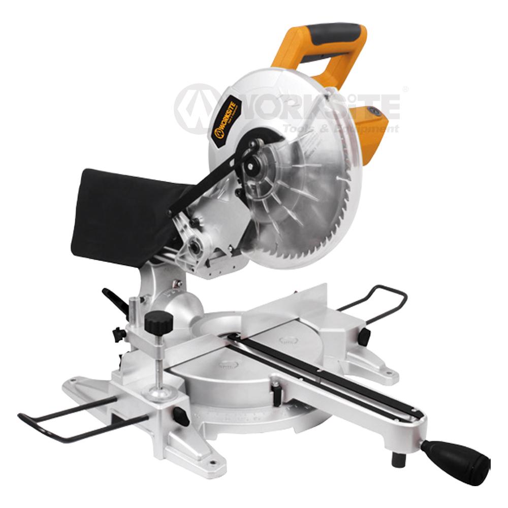 WORKSITE 255mm(10'') Sliding Miter Saw CMS214, 1800W 4500/min