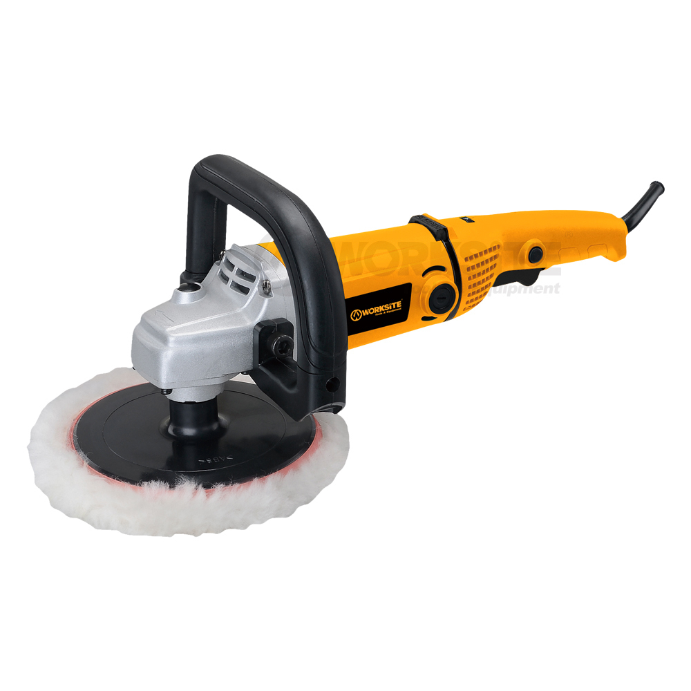 WORKSITE 180mm Electric Polisher, EP164,1400W, Woolen Wheel, Professional level