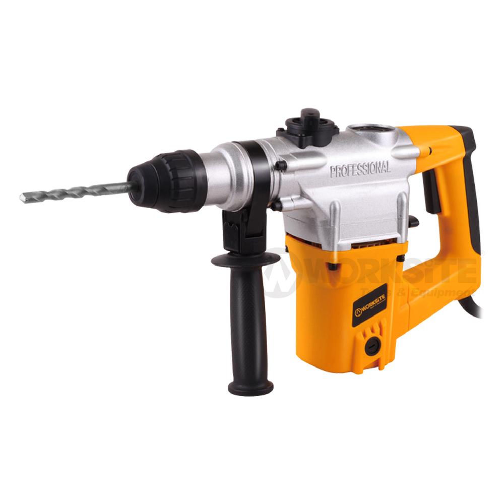 WORKSITE 26mm Rotary Hammer, ERH115,1050W, SDS