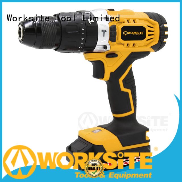 WORKSITE ROHS certified portable electric drill manufacturer for homeowners