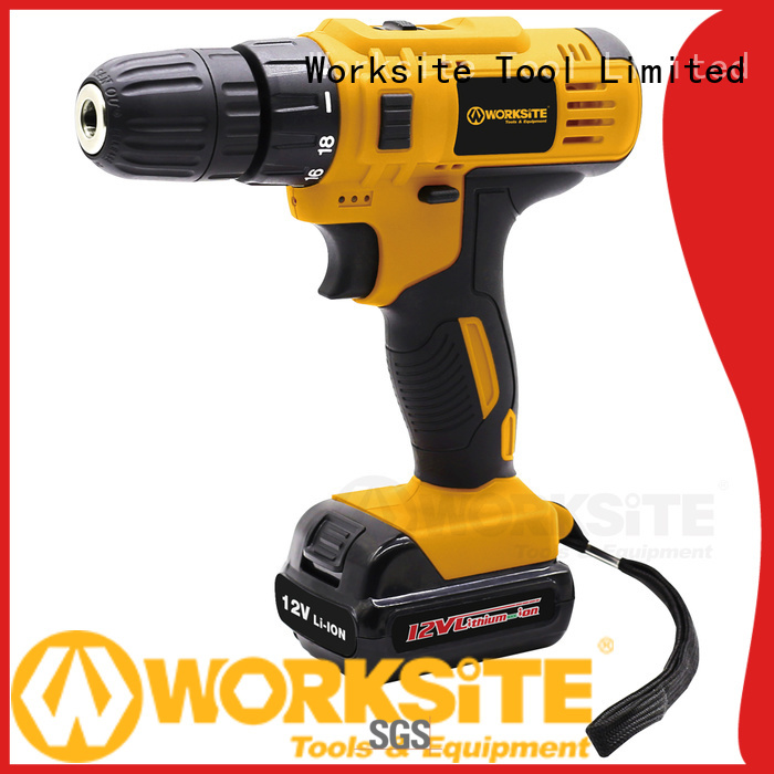 WORKSITE best electric drill manufacturer for homeowners